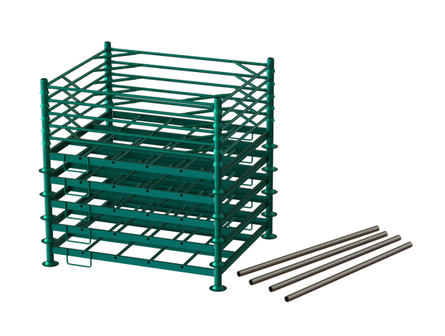 longpallet - modelo padrão desmontado