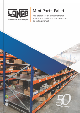 Catálogo - Mini Porta Pallet - Longa Industrial